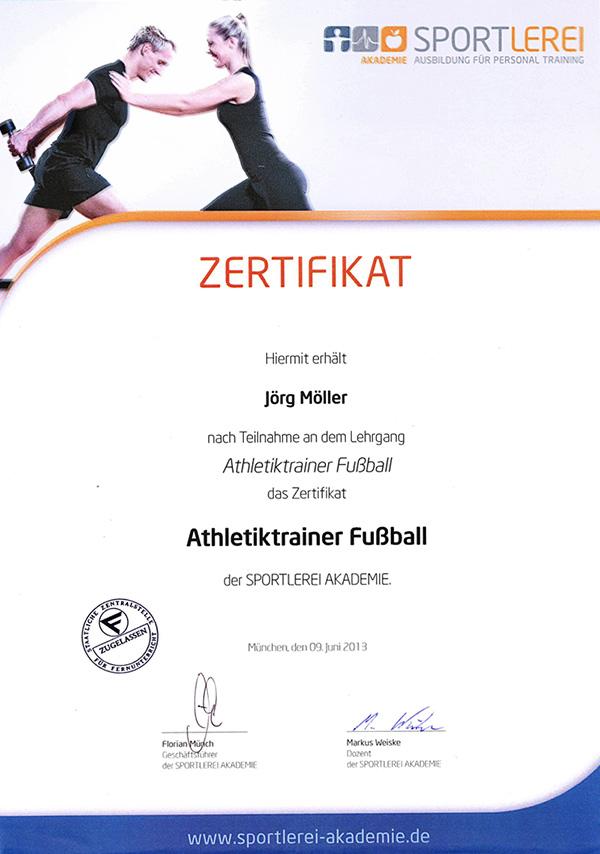 Zertifizierungen und Ausbildungen - Möller Personaltraining